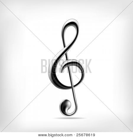 Music note (vector) • Find more music notes in my portfolio •