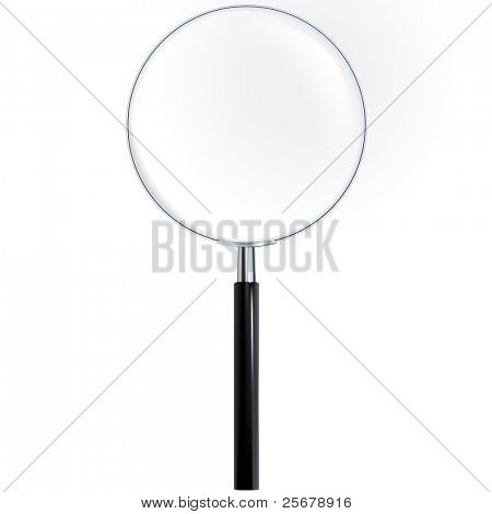 Magnifier - True Ttransparency (vector)