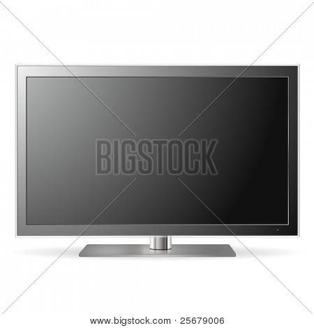 LCD TV (vector)