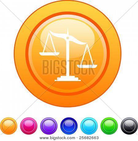Balance glossy circle web buttons.