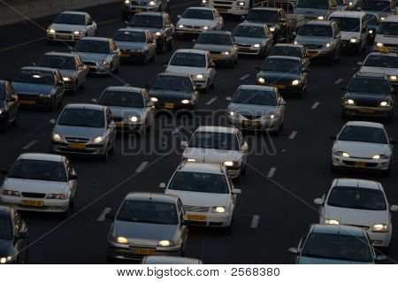 Heavy Traffic Closeup