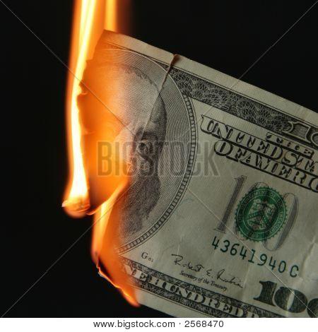 Quemadura de dólares
