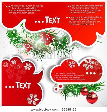 Bolhas de Natal para o discurso