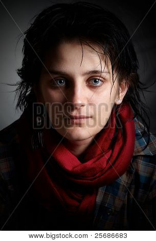 Young Artist Fineart Portrait