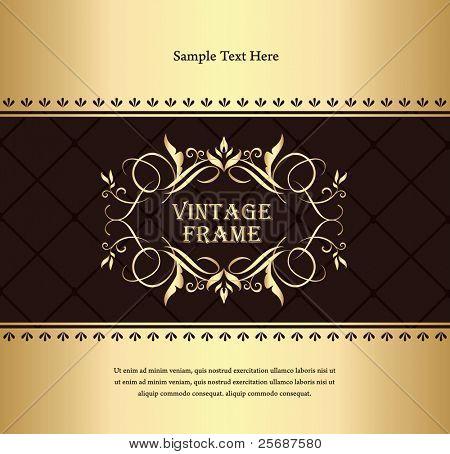 Fondo de oro Vintage