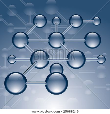 Vector Drawing of Molecular Structure