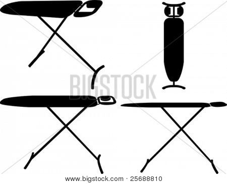 Vector ironing board