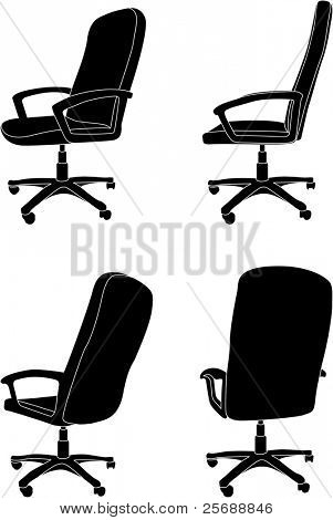 Vector office chair