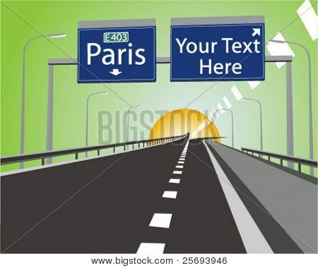 Route to Paris