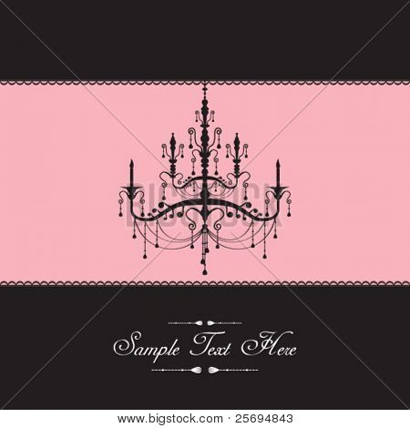 Luxury lamp template cover