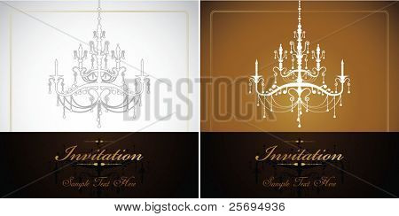 vintage luxury lamp template