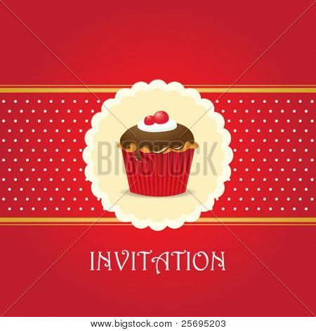 cupcake invitation background 05