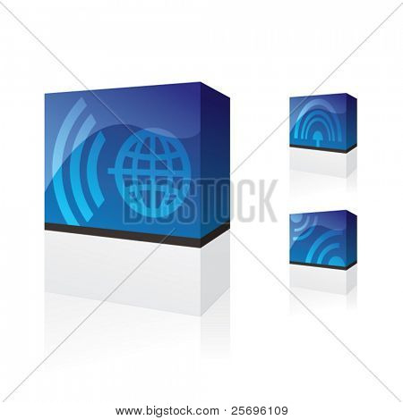 telecommunication products boxes