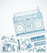 Постер, плакат: Doodles бум бокс