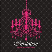 foto of chandelier  - Luxury chandelier background - JPG