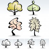 New !  Modern Tree ICONS