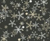 New year or Christmas pattern. Seamless
