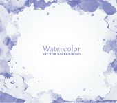 watercolor vector background