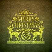 picture of merry christmas  - Christmas card - JPG