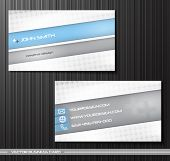 Vector abstract creative business cards