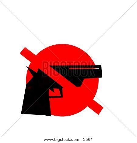 No Gun - Sign poster