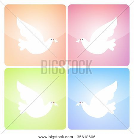 Peaceful Dove Icons