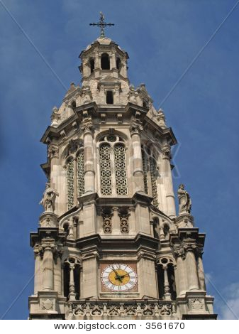 Paris - Bell Tower Of The Trinity Church