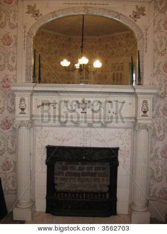 Antique Fire Mantel