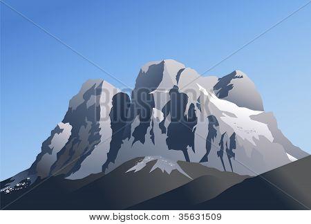 Pelmo mountain, Dolomiti
