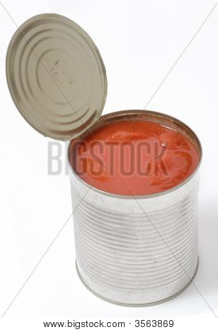 Opened Aluminum Can