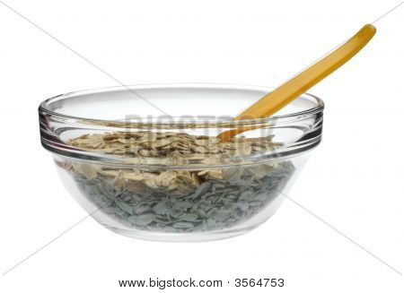 Granola In A Bowl