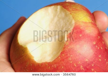 Red Biten Apple
