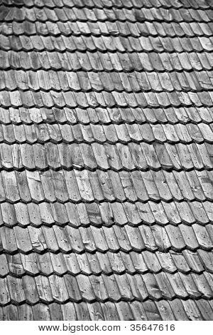 Old Wooden Roof