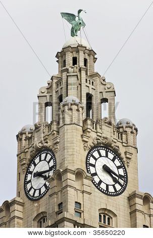 A Liver Bird On The Royal Liver Building