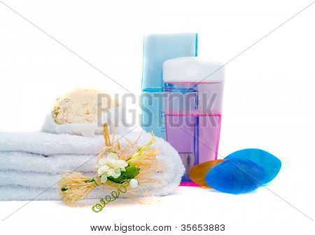 Spa Relaxation. towels