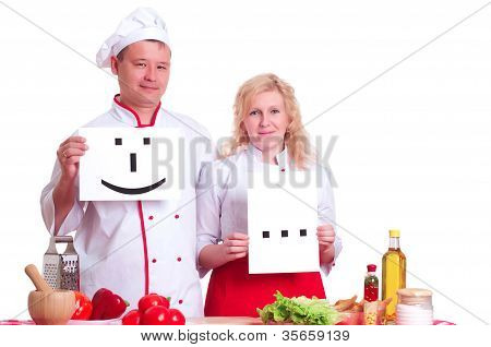 Cooks Keep The Signs