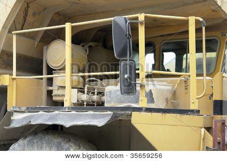Haul Truck Cabin