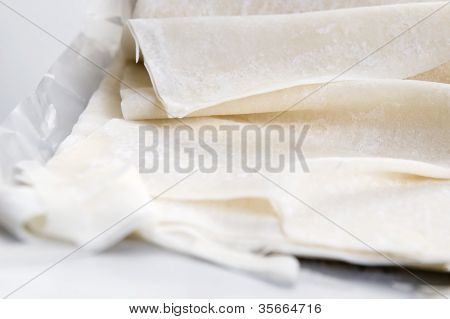 Filo - Ready Made Dough Leaves, Fillo, Phyllo