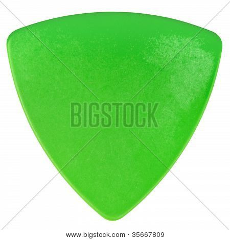 Green Plectrum