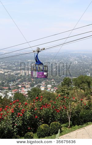 Cablecar Over Almaty