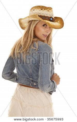 Cowgirl Back Look Jacket