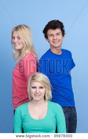 Three Teenage Friends