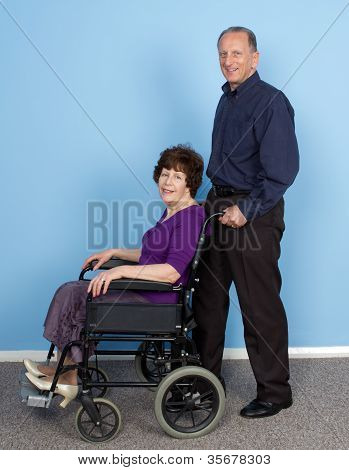 Elderly Disabled Couple