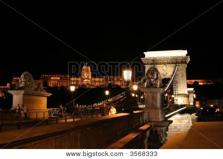 Hungary, Budapest At Night