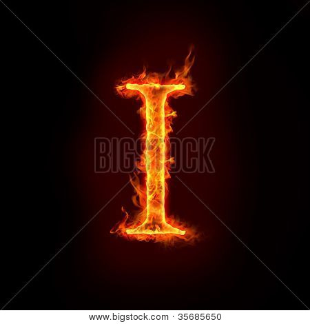 Fire Alphabets, I