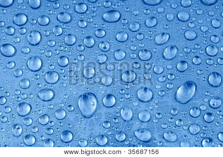 Close-up Photo of Water Drops