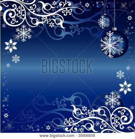 White And Blue Christmas Background Blue And White Christmas