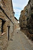 picture of ares  - Landscape with old spanish town Ares - JPG