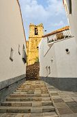 image of ares  - Streets of the small old spanish town Ares - JPG