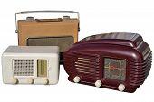 Three Retro Radios